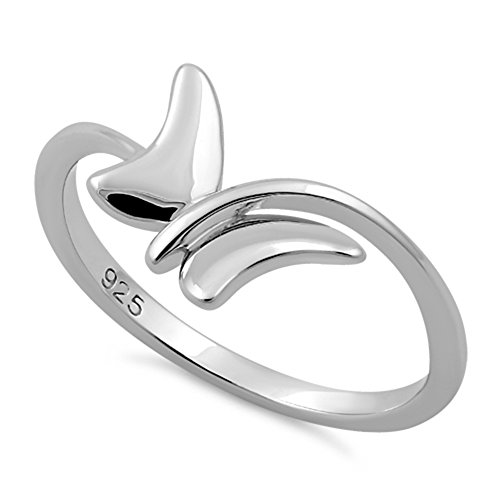Modern Ring Designs (Sterling Silver Butterfly Ring (6))