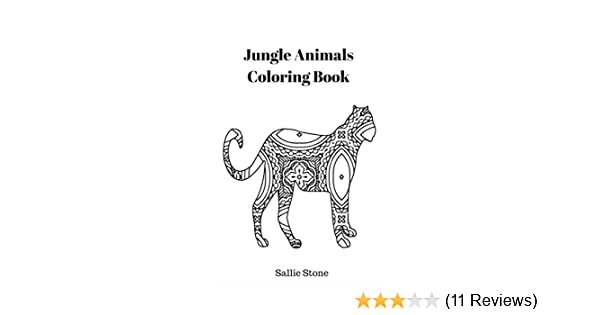 62+ Colouring Book Jungle Animals Best HD