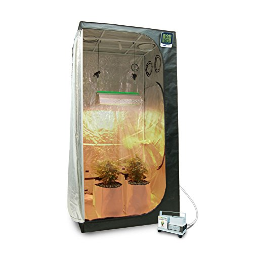 """415tBMGeXcL - Complete 3 x 3 (39""""x39""""x79"""") Grow Tent Package With 400-Watt HPS + Organic Soil & Nutrients"""