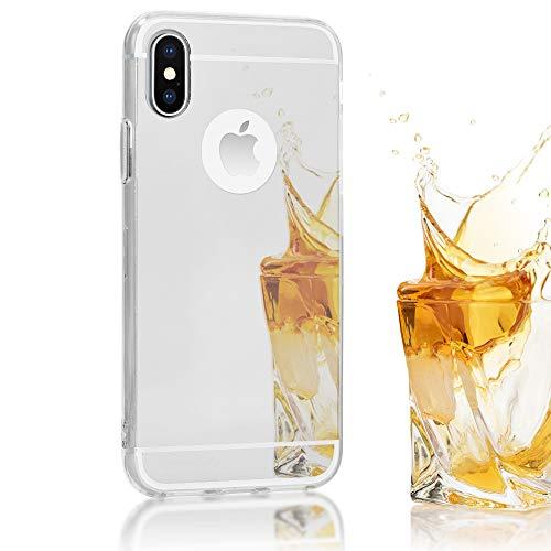 NALIA Mirror Case for iPhone Xs X