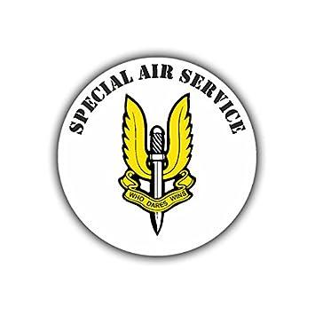 Sticker Sas Special Air Service Sas British Special Unit Army Logo