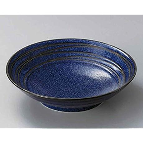Unkai 9 8inch Set Of 5 Pasta Bowls Blue Porcelain Made In Japan
