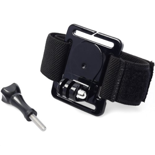 Waterproof Adjustable Case Elastic Velcro Arm Wrist Strap Mount for GoPro HERO 2 3 3+ M-OS030 By Xcellent Global