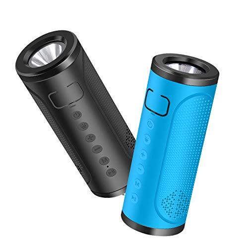 xingganglengyin Outdoor Riding Flashlight Bluetooth Speaker Portable Waterproof Multi-Function FM Card subwoofer by xingganglengyin (Image #1)