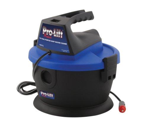 Pro-Lift I-8870 Grey 12V Heavy Duty Vacuum Cleaner