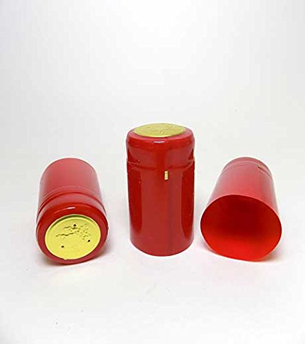 Holiday Red Heat Shrink Capsules (30 Count)