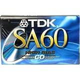 Sa-60 High Bias Audio Cassette
