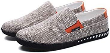 メンズ カジュアル ローファー スリッポン シューズ ローカット キャンバス デッキシューズ フラット 滑り止め 履き脱ぎやすい 通学 海辺 私服 職場用 事務所 通気抜群 蒸れない 夏 布靴 かっこいい 黒