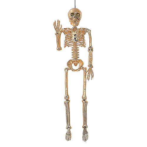 Gold Posable Skeleton 3