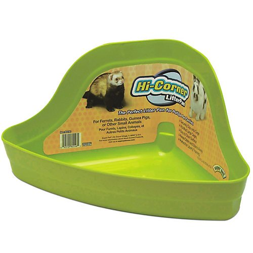 Super Pet Litter Pan Hicorner - Large (Guinea Pig Litter Pan compare prices)