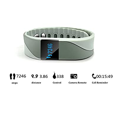 Plustore Heart Rate Monitor Wireless Activity Fitness Wristband