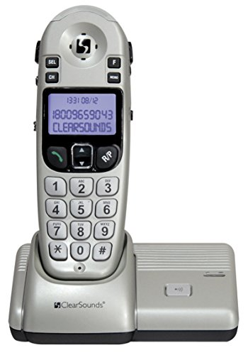 ClearSounds 900MHz Amplified Expandable Cordless Phone (CS-A55) (Renewed)