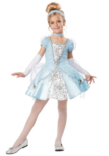California Costumes Cinderella Deluxe Child Costume, Small