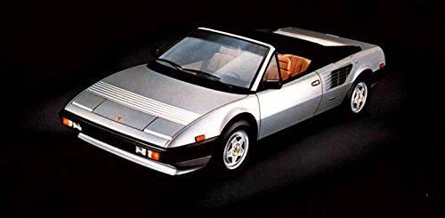 1984 Ferrari (1984 Ferrari Mondial Cabriolet Automobile Photo Poster)