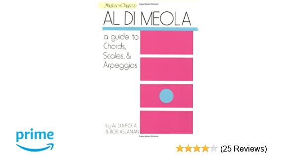 Amazon Al Di Meola A Guide To Chords Scales Arpeggios