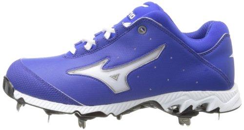 Mizuno Womens 9-spike Swift 3 Interruttore Softball Tacchetta Reale / Bianco