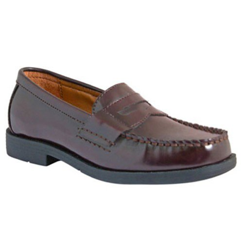 BASS Kids' Parnell Pre/Grd (Burgundy 3.5 - Penny Loafers For Girls