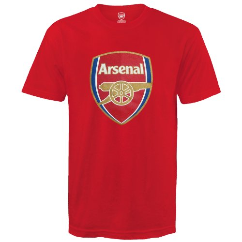 Shirt Home Arsenal 10 - Arsenal Football Club Official Soccer Gift Kids Crest T-Shirt Red 10-11 Years