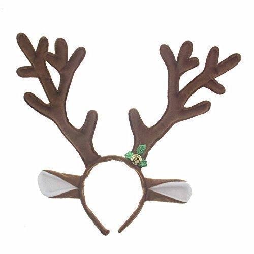 Pagreberya Reindeer Antlers Headband Christmas and Easter Party Headbands