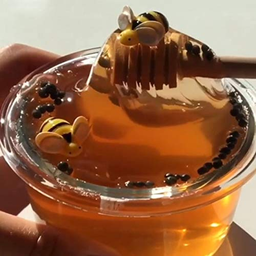 shengerm Crystal Slime Toys Clear Honey Slime Bee Polymer Clay Modeling Slime Lizun Glue mud Slime Putty DIY Toy Antistress Mud