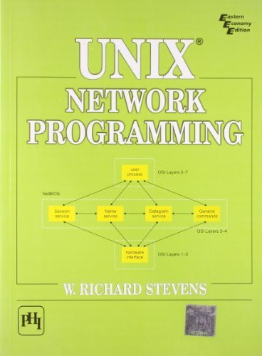Unix Network Programming by W. Richard Stevens (1993) Paperback by Prentice Hall of India