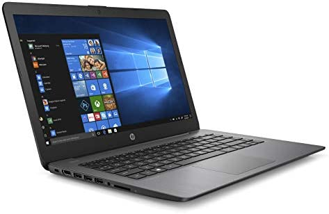 2019 HP Stream Laptop 14inch, Intel Celeron N4000, Intel UHD Graphics 600, 4GB SDRAM, 32GB SSD, HDMI, Win10, 14-cb164wm Brilliant Black (Renewed)