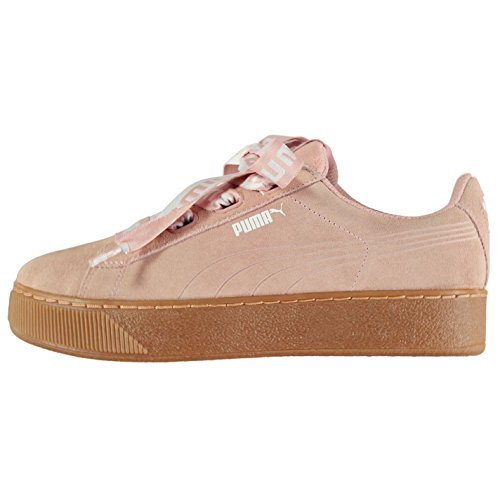 femme Sports pour ruban plate forme Officiel Baskets Sneakers Chaussures Vikky Pêche Puma Baskets wx608fn