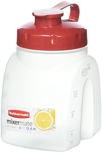 Servin Saver Bottle (Rubbermaid - MixerMate Servin' Saver Beverage Container in White(1PT /473 mL))