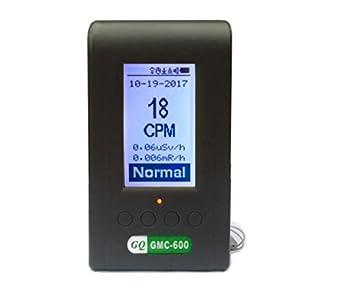 GQ gmc-600 Plus contador Geiger detector Dosímetro Alpha Beta Gamma Xray lnd 7317: Amazon.es: Industria, empresas y ciencia