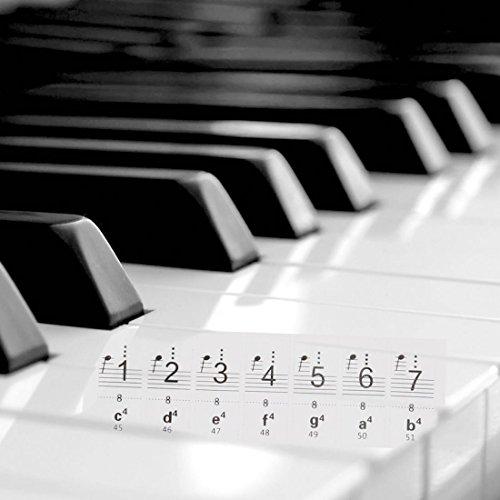 88 anti 61 szcxtop trasparente tasto 54 piombo elettronica Organo Pianoforte abrasione adesivo 32 pianoforte Tastiera pratica A 49 IwXfdOwq