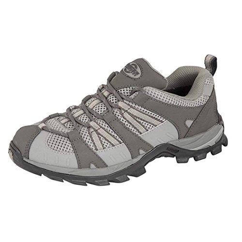 Damen Montana/Kiefer vollständig wasserdicht Walking/Wandern/Schnürschuh Trainer Schuh, Grau - Grau - Größe: 37