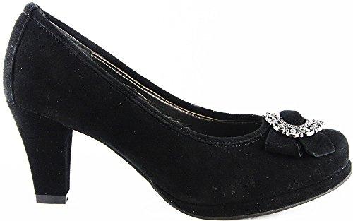 Andrea Conti Schuhe Pumps High Heels Schwarz 2205