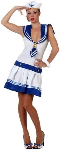 Atosa- Disfraz marinera, Color blanco, XL (6003): Amazon.es ...
