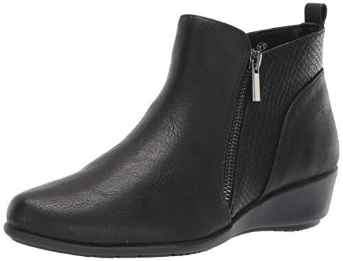 Aerosoles Women's All The Way Ankle Boot, Black Combo, 9.5 M US from Aerosoles