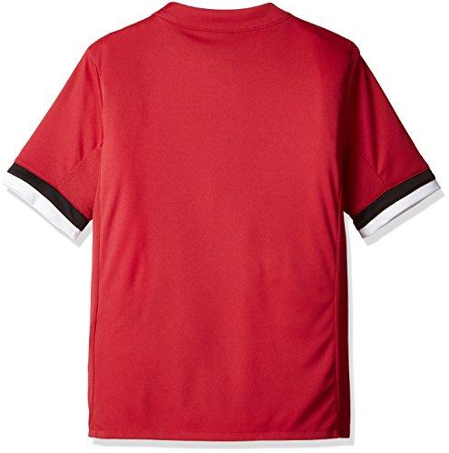 Maglia Rosso uomo Adidas nero manica Real corta bianco per Az7584 rxt0HrCwq