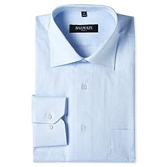 Balmain Shirt for Men - Light Blue/White
