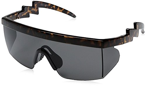 Neff Men's Brodie, Tortoise, One Size (1980s Sunglasses)