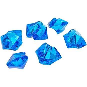 Amazon Tanday 1 Pounds Royal Blue Acrylic Ice Rock Vase Filler