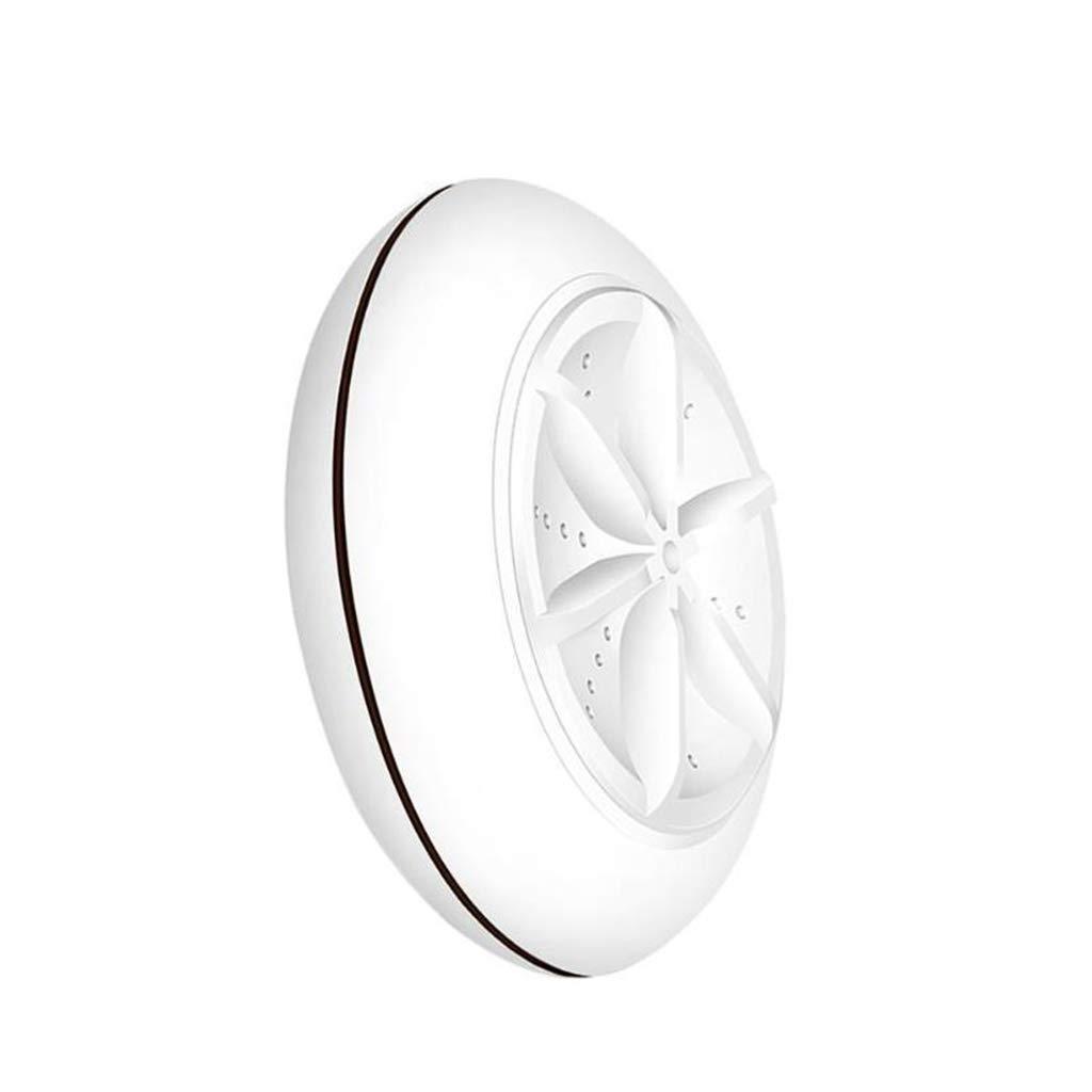 lotus.flower Mini Portable Ultrasonic Turbine Washing Machine Spin Dryer Laundry Washer (Black) by lotus.flower