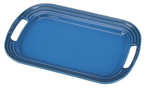 Le Creuset Stoneware 12-Inch Oval Serving Platter, Marseille