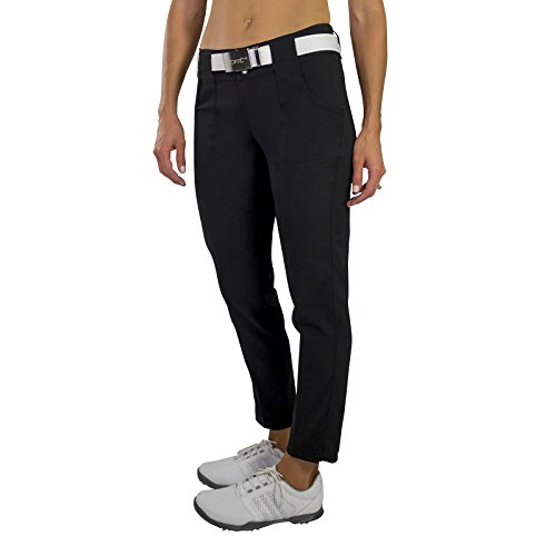 Jofit New Belted Cropped Golf Pant - Black - 8