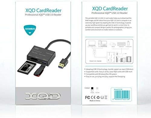 RONSHIN 500MB//S High-Speed USB3.0 XQD Card Reader Adapter XQD 2.0 Memory Card