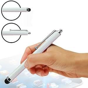 Lápiz capacitivo blanco para LG T375 Cookie Smart Touch pantallas de teléfonos móviles