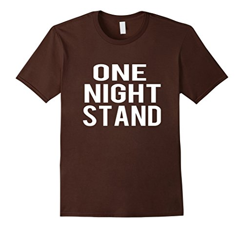 Mens One Night Stand Halloween Costume Funny T-shirt Large (One Night Stand Costume)
