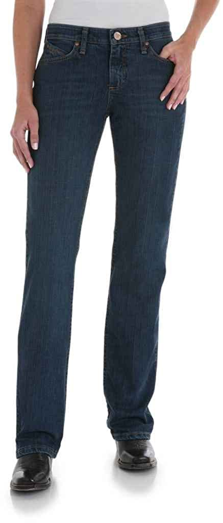 32141fba Wrangler Apparel Womens Ultimate Tuff Back Riding Jeans 20x32 Tuff Buck  Wash at Amazon Women's Jeans store