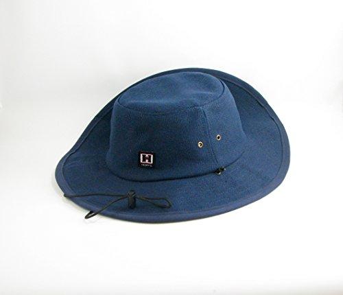 Blue Hemp Hat - Hempy's Hemp Baja Explorer Sun Hat (Blue)
