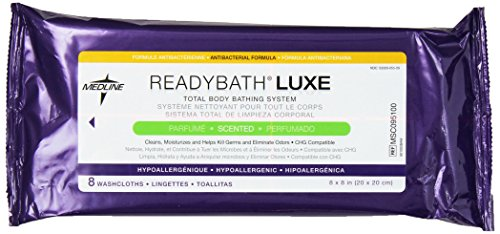 ReadyBath LUXE Formula, Scented, 8 Count (Pack of 24)