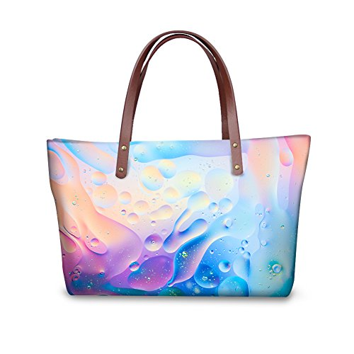 Bages V6lcc4050al leather Bags FancyPrint Tote School Women EwBAagq