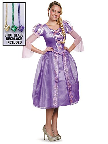 Disney Princess Deluxe Womens Rapunzel Costumes (Disney Princess Deluxe Womens Rapunzel Costume Party Kit-M)
