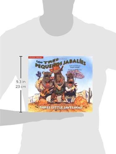 Los tres pequeños jabalíes / The Three Little Javelinas by Cooper Square Publishing Llc